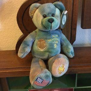 Collectible New Hampshire Boyds Quarter Bear 🧸